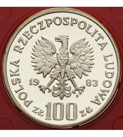 100 złotych 1983, niedźwiedzie - próba