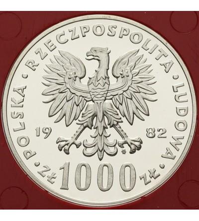 1000 złotych 1982, Jan Paweł II - próba