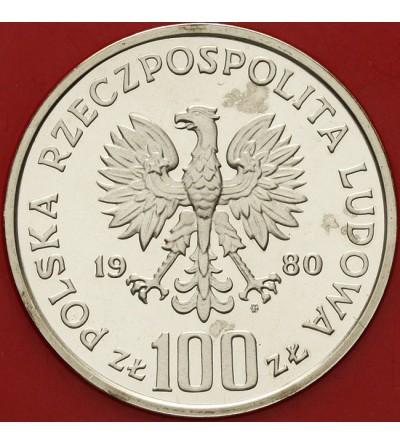 100 złotych 1980, głuszce - próba