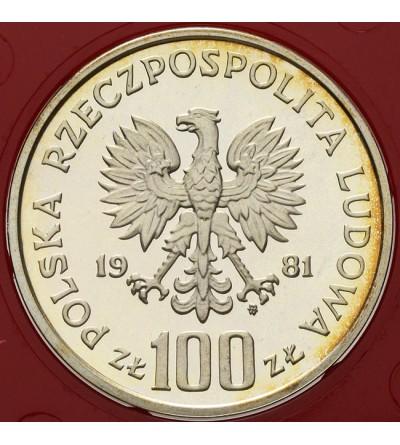 100 złotych 1981, Władysław Sikorski - próba