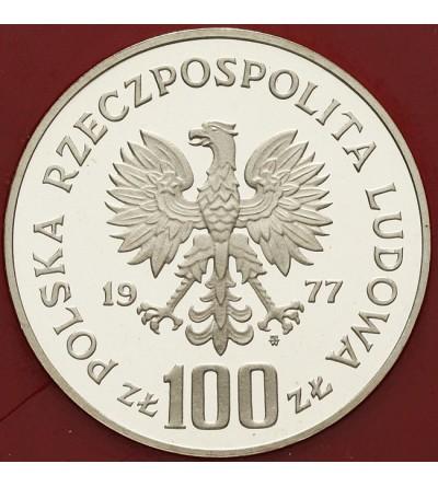 100 złotych 1977, Zamek Królewski na Wawelu - próba