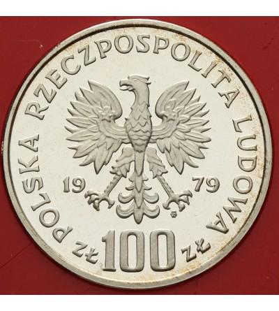 100 złotych 1979, ryś - próba