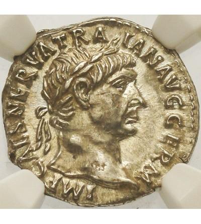 Trajan 98-117. AR Denar