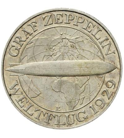 Weimar 3 marki 1930 E Zeppelin