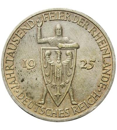 Weimar 3 marki 1925 G Rheinlande