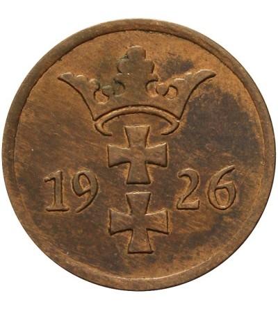 Wolne Miasto Gdańsk 2 fenigi 1926