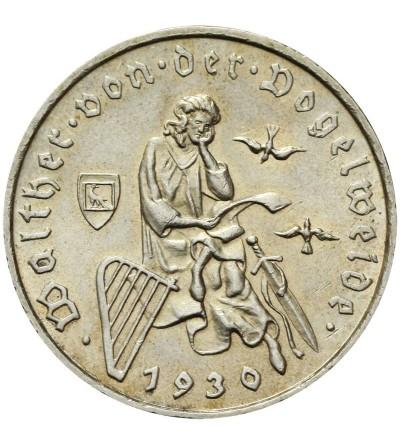 Weimar 3 marki 1930 D Walther von der Vogelweide