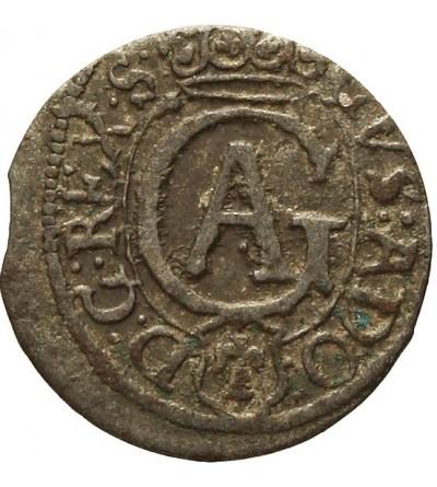 Elbląg szeląg 1630, szwedzka okupacja