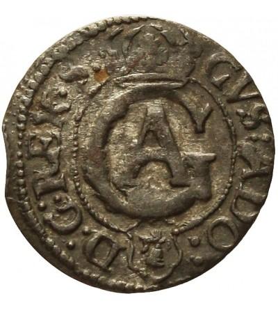 Elbląg szeląg 1631, szwedzka okupacja