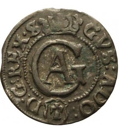 Elbląg szeląg 1632, szwedzka okupacja