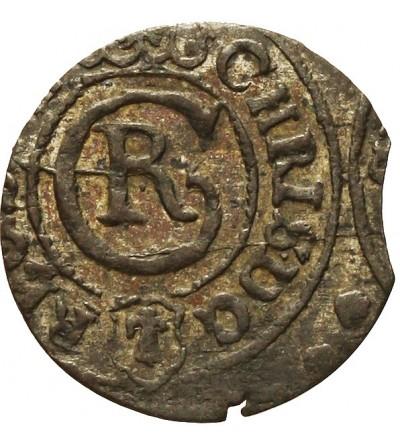 Elbląg szeląg 1634, szwedzka okupacja