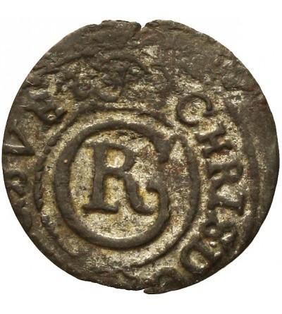 Elbląg szeląg 1635, szwedzka okupacja
