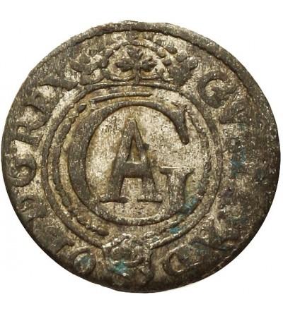 Ryga szeląg 1621, Gustaw Adolf