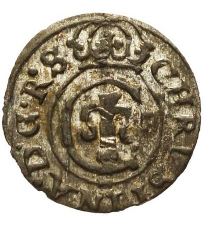 Livonia szeląg 1647, Krystyna
