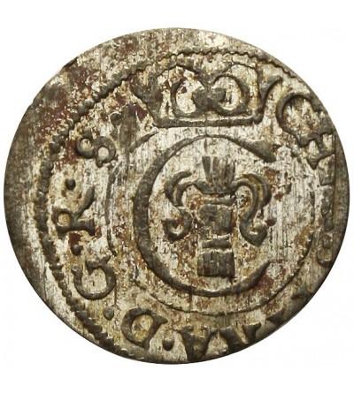 Livonia szeląg 1651, Krystyna