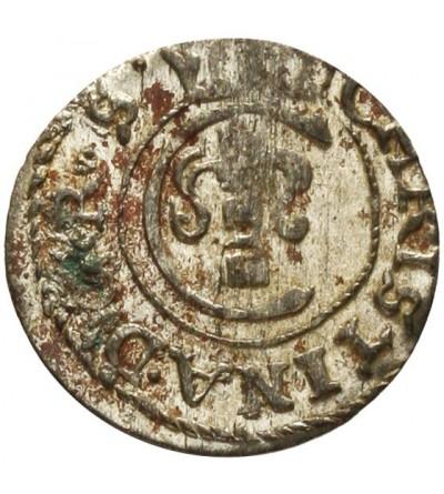 Livonia szeląg 1653, Krystyna