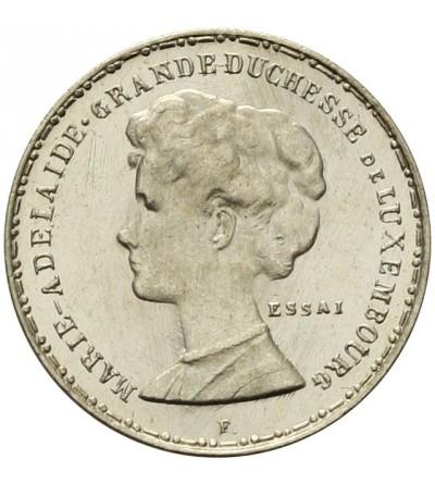 Luksemburg 50 centimes 1914 - próba
