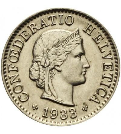 Szwajcaria 5 rappen 1933 B
