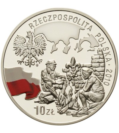 10 złotych 2010, 100 rocz. Harcerstwa Polskiego
