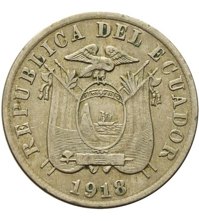 Ekwador 5 centavos 1818