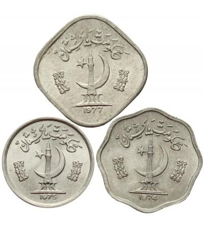 Pakistan 1, 2, 5 paisa 1974 - 1977