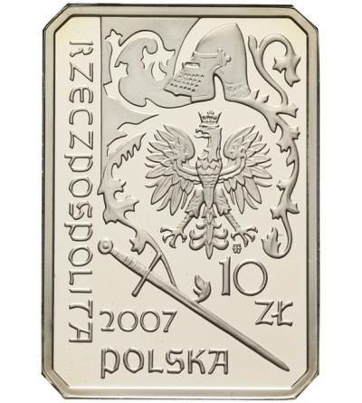 10 złotych 2007, Rycerz Ciężkozbrojny