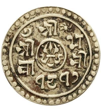 Nepal 1/4 mohar 1895