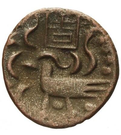 Kambodża 2 Pe 1/2 fueng bez daty (1847)