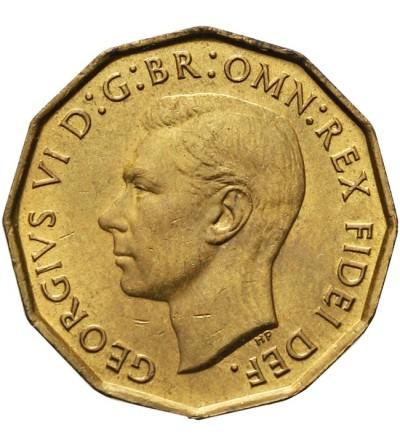 Wielka Brytania 3 pensy 1952