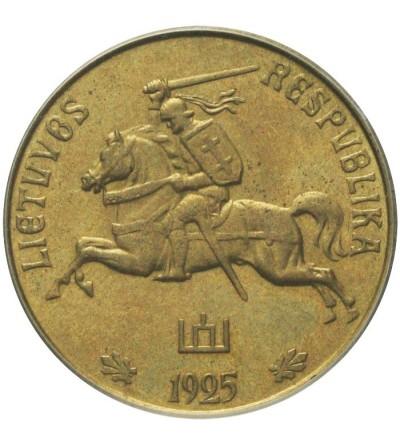 Litwa 20 centów 1925 - próba technologiczna