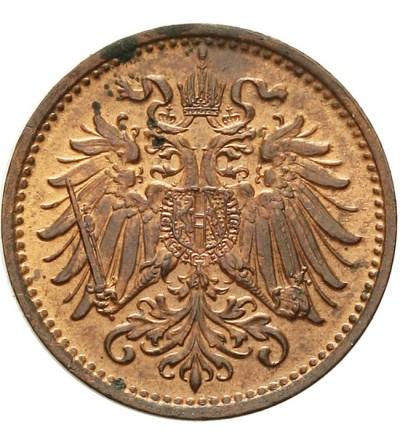 Austria 1 heller 1895