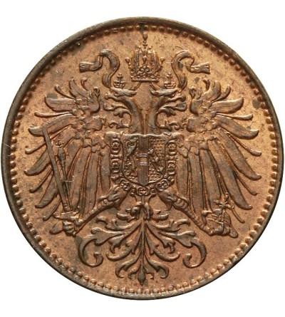 Austria 2 heller 1893