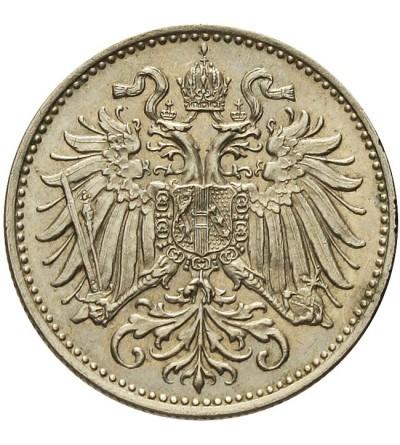 Austria 10 heller 1894