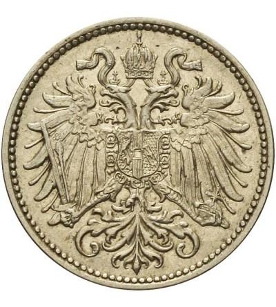 Austria 10 heller 1895