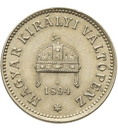 Węgry 10 filler 1894