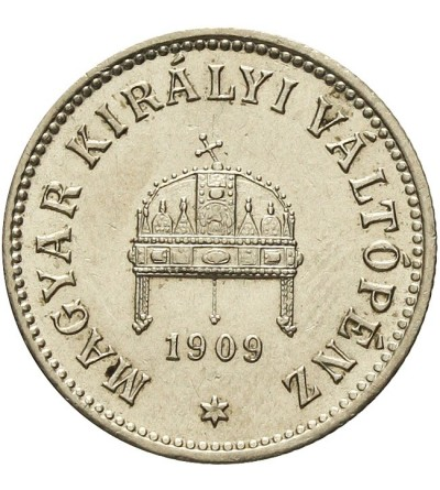 Węgry 10 filler 1909