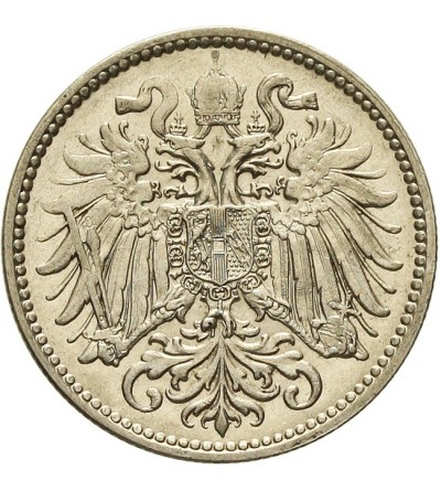 Austria 10 heller 1910