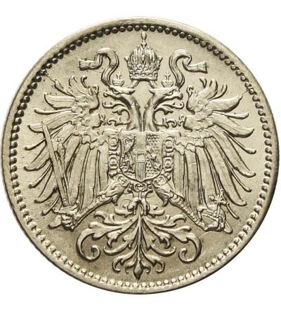 Austria 10 heller 1893