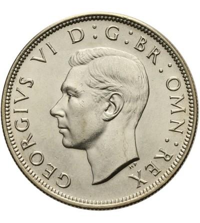 Wielka Brytania 1/2 korony 1945