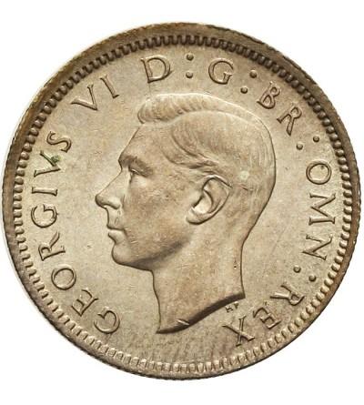 Wielka Brytania 6 pensów 1942