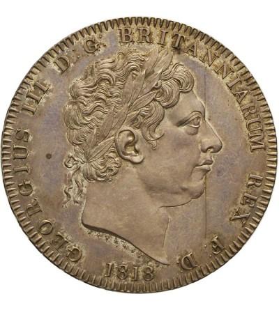 Wielka Brytania 1 korona 1818, LVIII