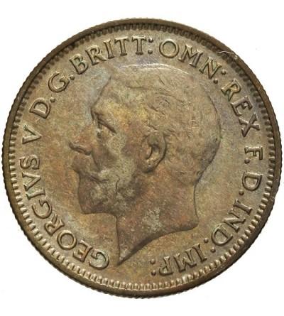 Wielka Brytania 6 pensów 1934