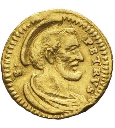 Watykan 1/2 scudo romano bez daty, Benedykt XIV