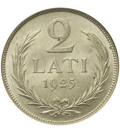 Łotwa 2 lati 1925 - NGC MS64