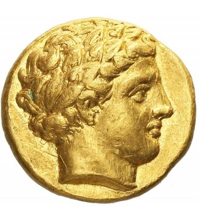 Macedonia. Filip II 359-336 p.n.e. Złoty stater ok. 340-328 r. p.n.e.