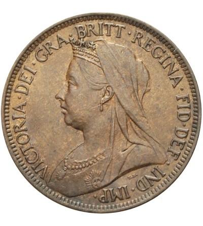 Wielka Brytania 1/2 penny 1897