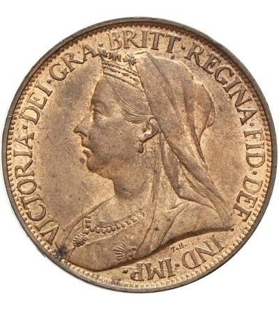 Wielka Brytania 1 farthing 1897