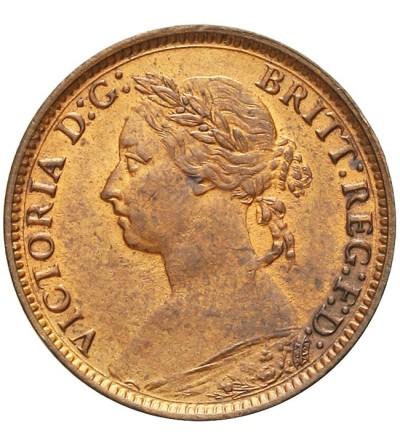 Wielka Brytania 1 farthing 1881 H
