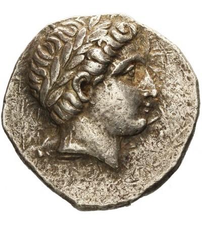 Paeonia. Patraos 340-315 p.n.e. AR Tetradrachma