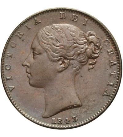 Great Britain 1 farthing 1843